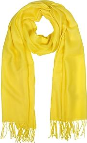 Mila Schon ,  Wool And Cashmere Fringed Stole