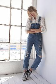 Citizens Of Humanity , Quincey Denim Overalls By  At Free People