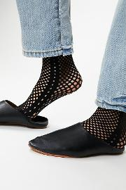Emilio Cavallini , Gallery Fishnet Sock By  At Free People