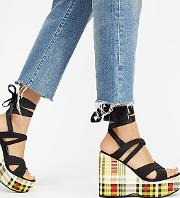 Intentionally Blank , Kelly Platform Wedge By  At Free People