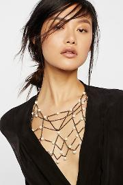 Lena Bernard , Pearl Chain Halter By  At Free People