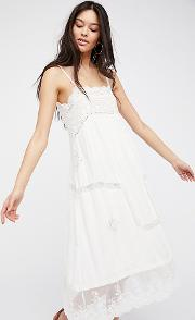 Spell , Peaches Slip Dress By  At Free People Chemise