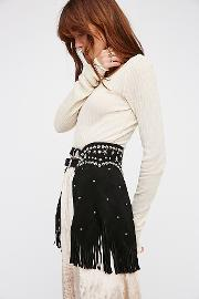 Understated Leather , Paris Texas Chaps Belt By  At Free People