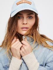 Understated Leather , Understated Patched Denim Baseball Hat By  At Free People