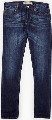 French Connection , Co Skinny Track Stretch Jeans Dark Wash
