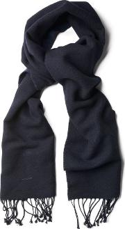 Gant , Dual Sided Scarf Navy
