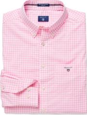 Gant , Gingham Checked Shirt Bright Pink