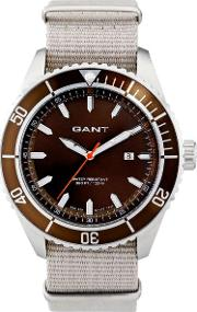 Gant , Seabrook Military Watch Dark Brown