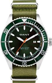 Gant , Seabrook Military Watch Racing Green