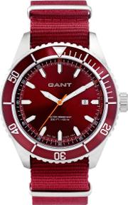 Gant , Seabrook Military Watch Red