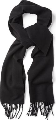 Gant , Solid Lambswool Scarf Black