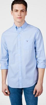 Gant , The Plain Broadcloth Shirt Hamptons Blue