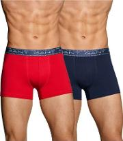 Gant , 2 Pack Trunk Gift Box Red