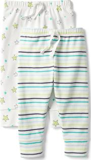 Gap , Starfish Knit Pants 2 Pack New Off White