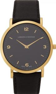 Lugano 38mm Gold Plated Watch
