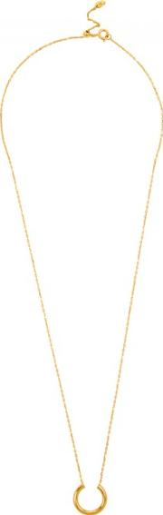 Maria Black , Loom 18kt Gold Plated Necklace