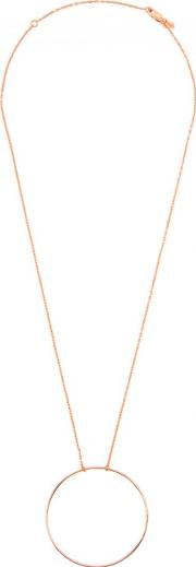 Maria Black , Monocole Rose Gold Plated Necklace