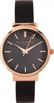 Olivia Burton , The Hackney Rose Gold Plated Watch