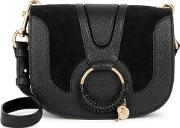 See By Chlo , Hana Leather And Suede Shoulder Bag
