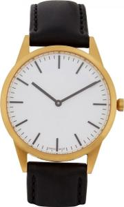 Uniform Wares , C35 Gold Pvd Plated Watch