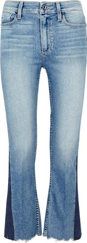 Paige , Colette Cropped Kick Flare Jeans Size W29