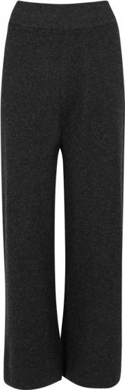 India Wide Leg Cashmere Trousers Size S