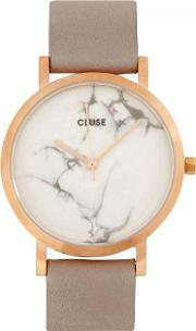 Cluse , La Roche Petite Rose Gold Tone And Marble Watch