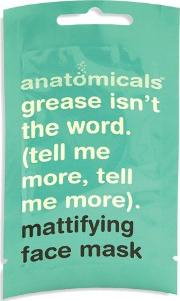 Anatomicals , Grease Isn't The Word Mattifying Face Mask