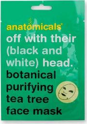 Anatomicals , Off With Their Black And White Head Tea Tree Mask