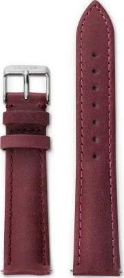 Cluse , La Boh Me Maroon Leather Watch Strap