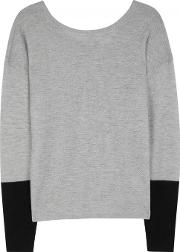Duffy , Grey Cashmere And Merino Wool Jumper Size M