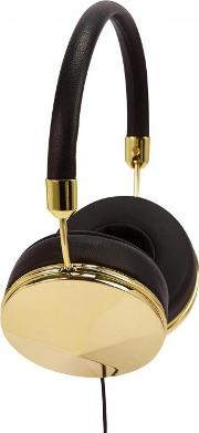 Frends , Taylor Black And Gold Tone Headphones
