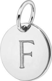 Missoma , F Sterling Silver Charm