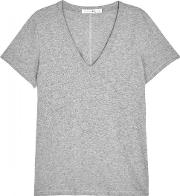 The Vee Grey Cotton T Shirt Size Xs