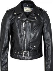 Schott Nyc , 618 Perfecto Black Leather Biker Jacket Size M