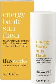 This Works , Energy Bank Sun Flash 30ml