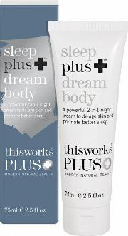 This Works , Sleep Plus Dream Body 75ml