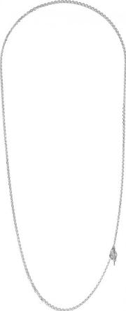 All Blues , String 65mm Sterling Silver Chain Necklace