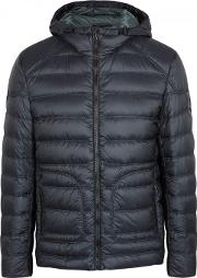 Belstaff , Fullerton Navy Quilted Shell Jacket Size 40