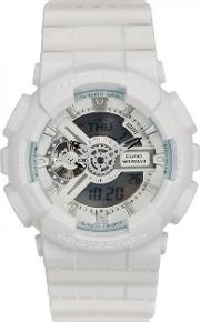 G Shock Ga110l White Resin Watch