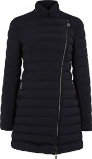 Moncler , Anastasia Navy Quilted Shell Jacket Size 2