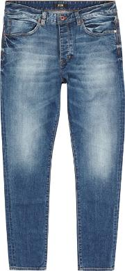 Neuw , Ray Blue Tapered Jeans Size W34l34