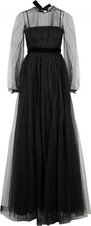 No21 , No.21 Black Tulle Gown Size 12