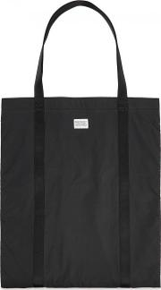 Ripstop Black Shell Tote