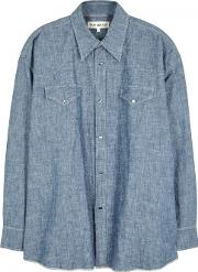 Our Legacy , Blue Chambray Shirt Size 1