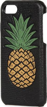 The Case Factory , Pineapple Print Leather Iphone 7 Case
