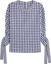 Rosetta Getty , Gingham Cotton Top Size 10