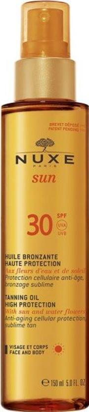 Sun Tanning Oil Face And Body Spf30 150ml