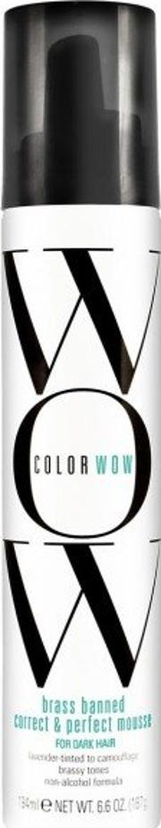 Color Wow , Brass Banned Mousse For Dark Hair 200ml