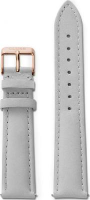 Cluse , La Boh Me Grey Leather Watch Strap